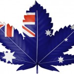 Marijuana leaf with Australian flag design: CannaSensation Rule & Legislation Blog