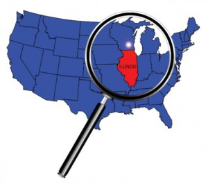 State of Illinois under magnifying glass: CannaSensation Marijuana Marketing Blog