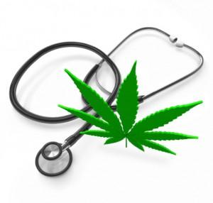 marijuana leaf and stethoscope: CannaSensation Rule & Legalization Blog